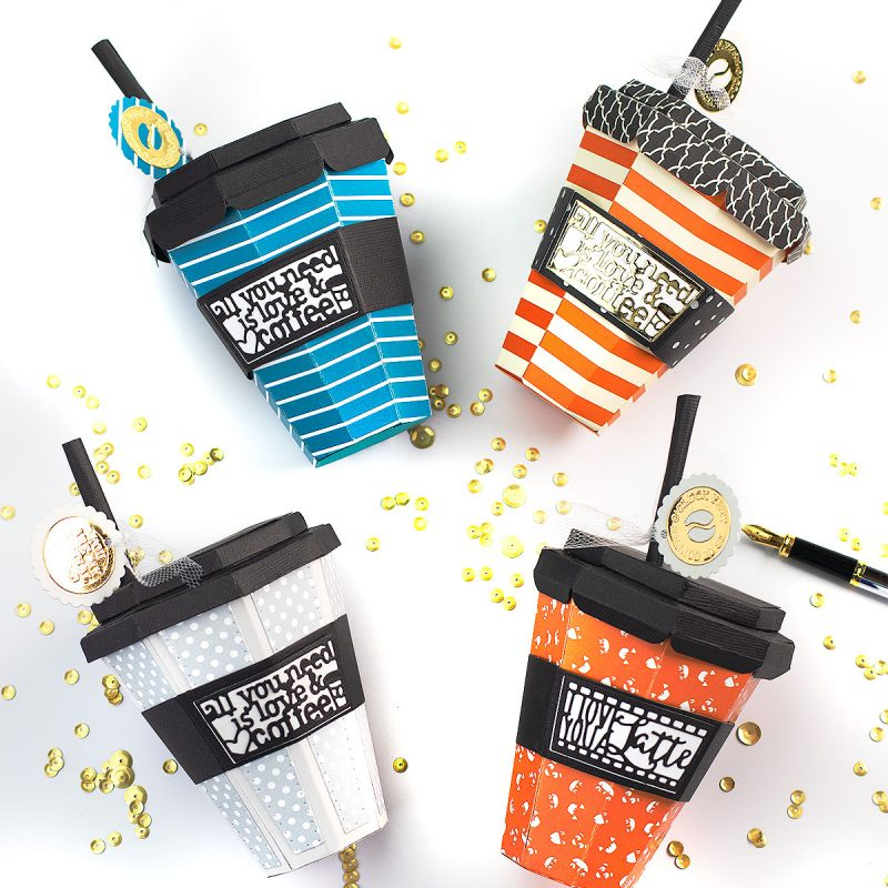 Paper Coffee Cup Tutorial Tonic Studios Designer's Choice 11