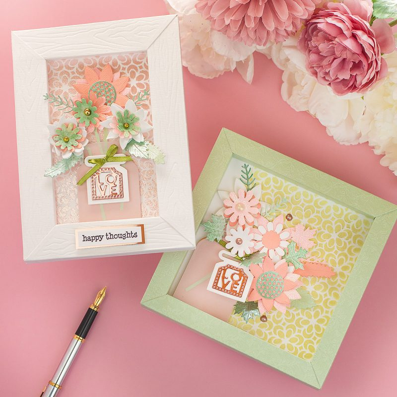 Tailored Frames and Rustic Rose Nuvo Trend by Tonic Studios