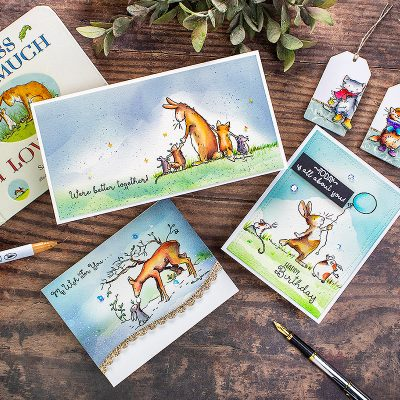 Anita Jeram's Stamp Release by Colorado Craft Company