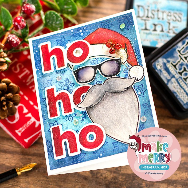 The Man The Myth Santa Die Cut Christmas Card