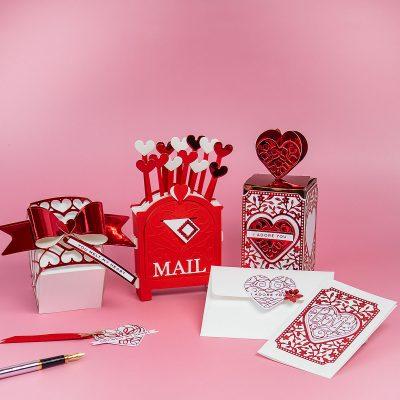 11 San Valentine's Papercraft Ideas +Spellbinders Kits January 2021