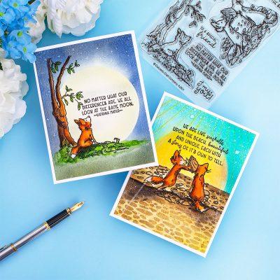 CCC Anita Jeram June Release Blog Hop [A Fox Life Stamp Set]