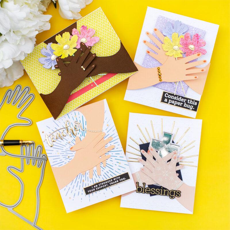 SSS Huge Hugs Card Wrap 4 Ways