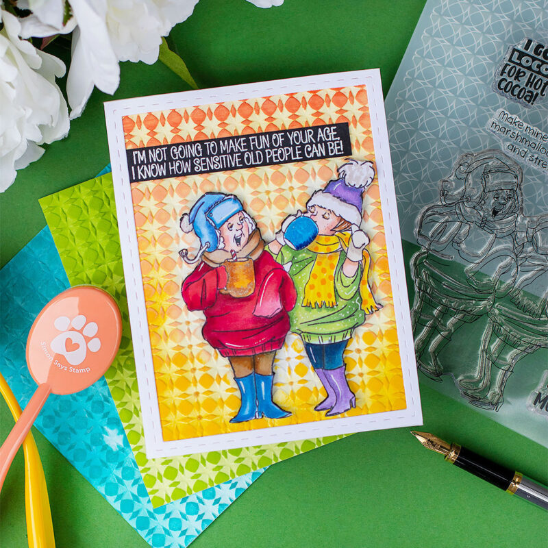 Hug in a Mug Stamp Set Art Impressions